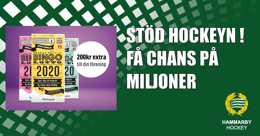 CHANS PA MILJONER